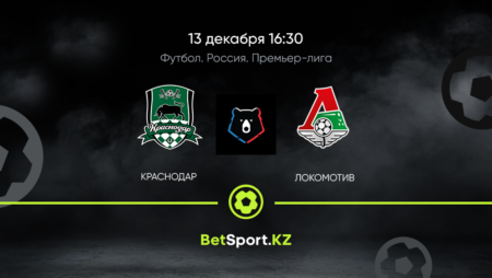 Краснодар – Локомотив 13.12.2020