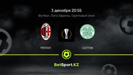 Милан – Селтик 03.12.2020