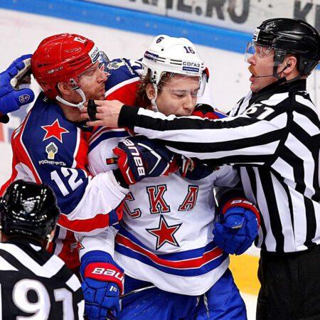 Хоккей. КХЛ. 1/8 финала