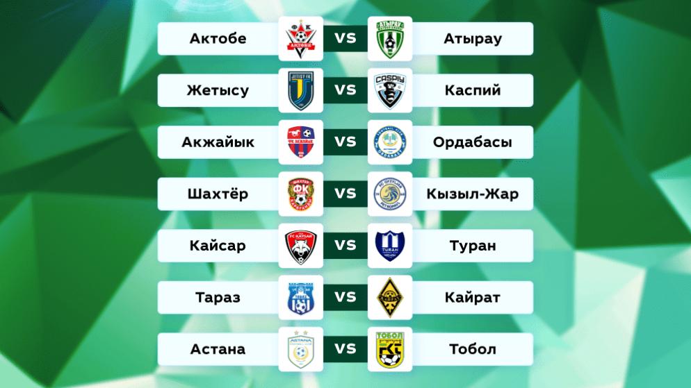 Футбол. Чемпионат Казахстана. 15 тур. 12-13 июня