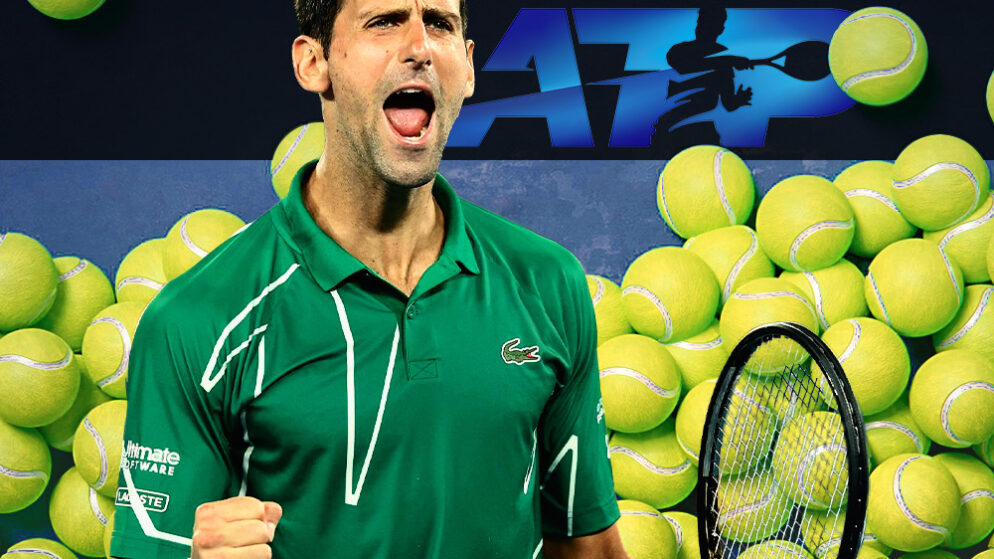 Новак Джокович первым квалифицировался на Итоговый чемпионат ATP после победы в турнире Большого шлема в одиночном разряде