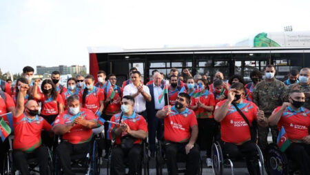 Сборная Казахстана отправилась на Паралимпиаду