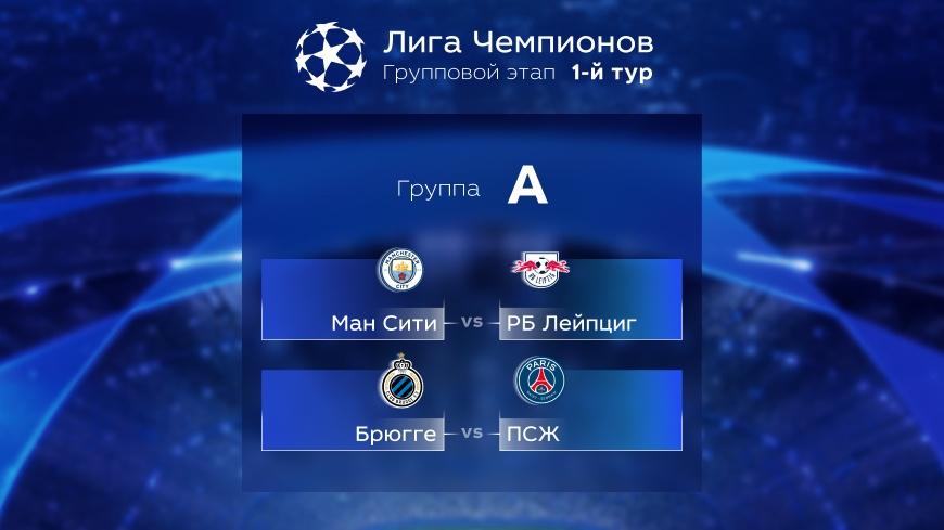Лига Чемпионов. Прогноз на матчи первого тура. Группа А