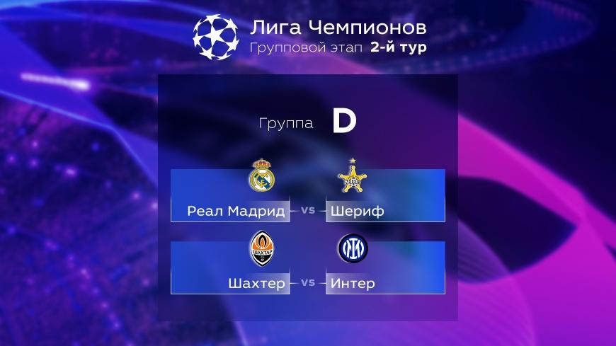 Лига Чемпионов. Прогноз на матчи второго тура. Группа D