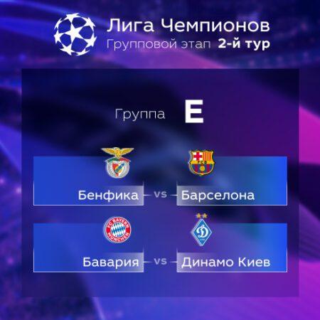 Лига Чемпионов. Прогноз на матчи второго тура. Группа Е