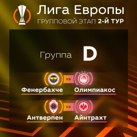 Лига Европы. Прогноз на матчи второго тура. Группа D