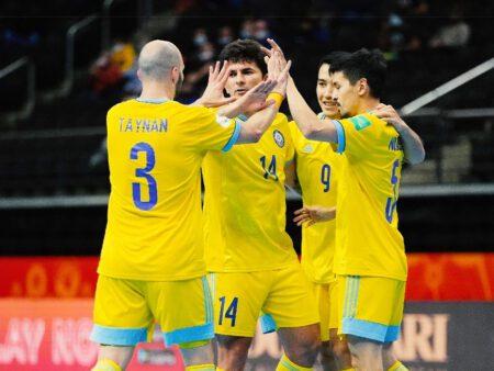 Забили семь и обновили рекорд: сборная в ¼ чемпионата мира-2021 по футзалу