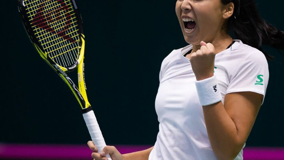 Зарина Дияс переигрывает Анну Шмидлову в первом круге турнира WTA-250 в Люксембурге
