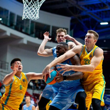 «Астана» взяла Санкт-Петербург: ошеломляющий старт нашего баскетбольного клуба в новом сезоне Единой Лиги ВТБ